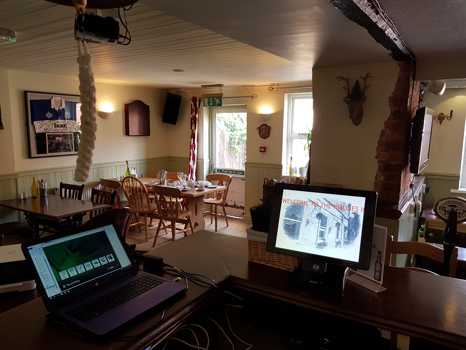 The Holllies Inn TouchOffice