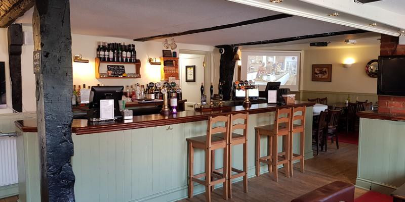 A great upgrade to a lovely pub called the Hollies Inn